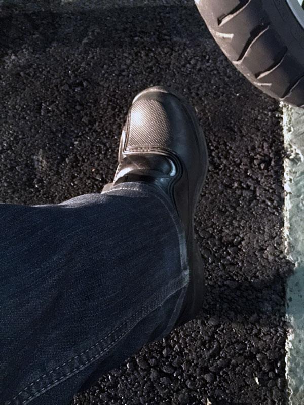 足先の防寒対策