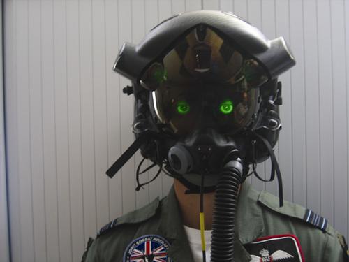 高度技術による未来のヘルメット