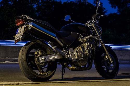 My ride at night