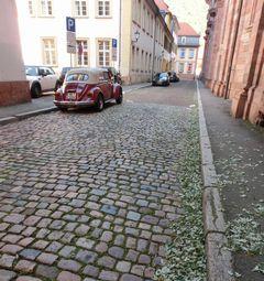 旧市街の石畳