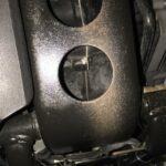 G650GS下回りの錆