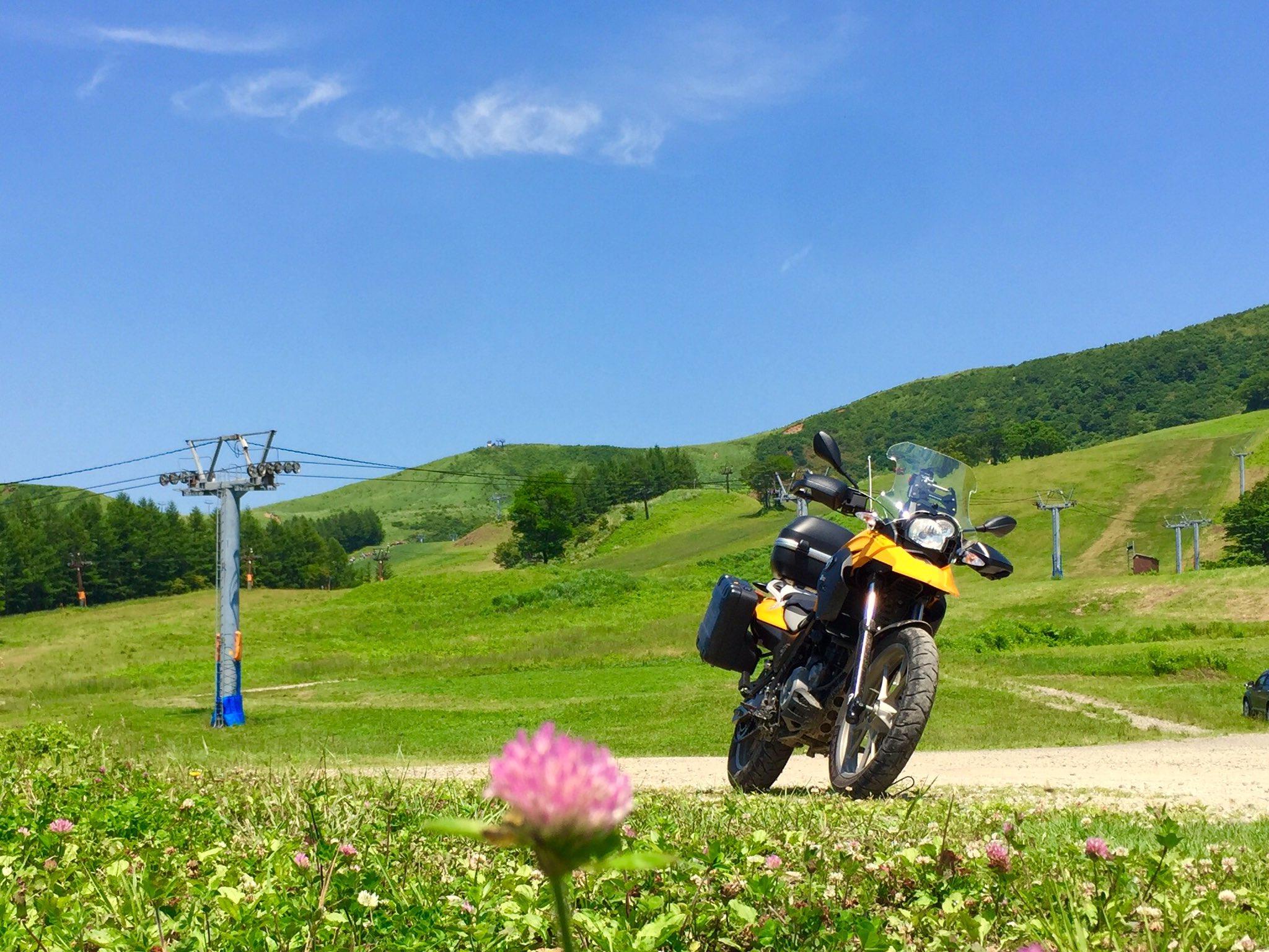 G650GS-林道 瀞川氷ノ山線