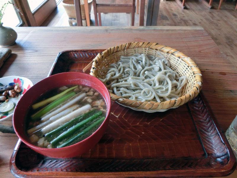 鴨椀とあつもり蕎麦