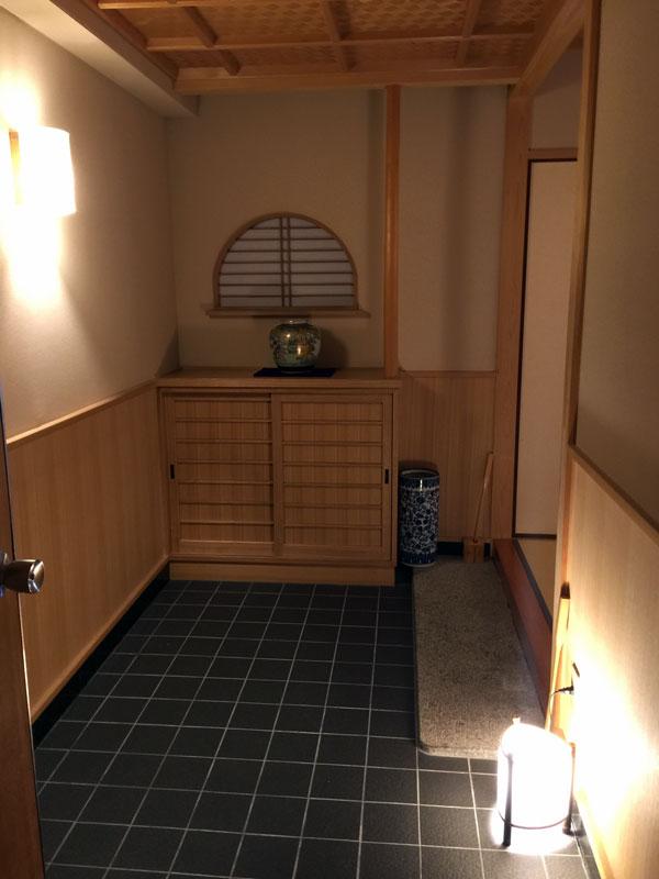 城崎温泉、宿の部屋
