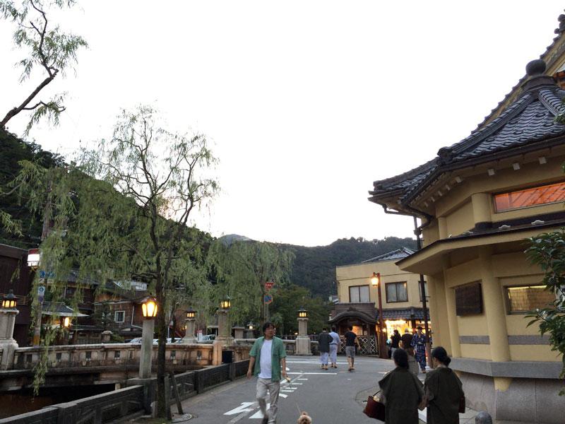 城崎温泉の風景