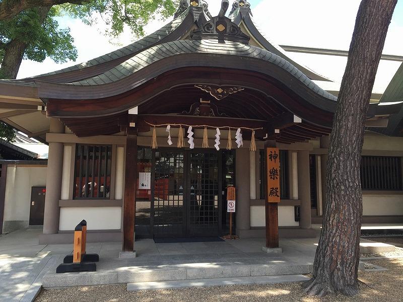 住吉大社の神楽殿