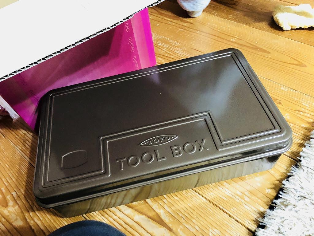 TOYOの工具箱 T-360(珈琲ブラウン)